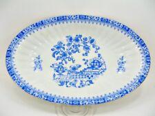 Arzberg - China Blau - Schale oval - Brotkorb  - ca. 32 x 20 cm (19)