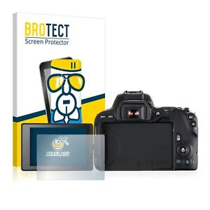Canon EOS 200D, BROTECT® AirGlass® Premium Glass Screen Protector