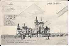 (AK76) Seebad Swinemünde   gelaufen 1900