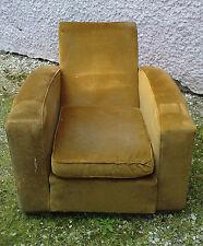 GRAND fauteuil club art déco attribué 1 fois a jacques henry LE MÊME ?!!!