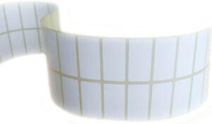 Blank White stickers Self Adhesive Sticky Address Printer Labels 50X25mm 400 pcs