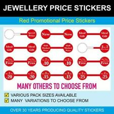 Jewellery Promotional Dumbell Stickers