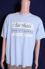 VTG '90s U. of North Carolina Tarheels Soccer Camp Adidas souvenir t shirt L
