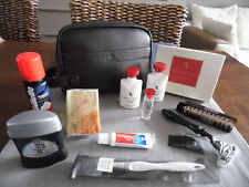 Emirates first class Bvlgari Leather Amenity kit Trousse neceser neceser