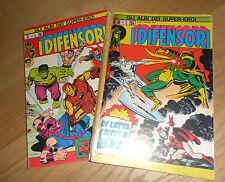 Gli albi dei Super Eroi ASE n.36-37 Serie I Difensori n.6-7 -Ed. Corno-Ottimo!!