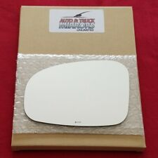 Mirror Glass + Adhesive For Scion Iq, Toyota Prius V Driver Side Replacement