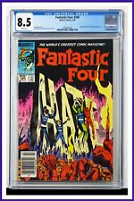 Fantastic Four #280 CGC Graded 8.5 Marvel July 1985 Newsstand Edition Comic Book