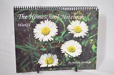 The Homeschool Notebook Weekly by Mama's Notebooks, Used Planner Organizational