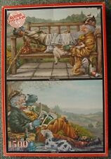 1500 PIECES JIGSAW- COUNTRY LIFE/YESTERDAY'S NEWS, WH SMITH JIG SAW COLLECTION,