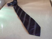 George-gentleman 's charmant homme marron cravate free post