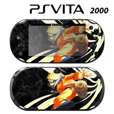 Vinyl Decal Skin Sticker for Sony PS Vita Slim 2000 Naruto Shippuden 3