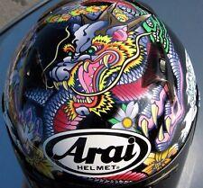 Arai RX-Q 2016 Oriental Black Dragon motorcycle helmet Hokusai wave Gloss Ltd Ed