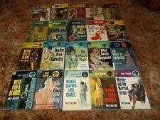 BRETT HALLIDAY~COMPLETE VINTAGE 70 BOOK MICHAEL SHAYNE DETECTIVE MYSTERY SERIES