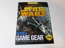 Sega Game Gear Instruction Manual Booklet - STAR WARS