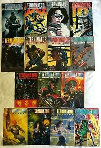 TERMINATOR - FIFTEEN (15) ISSUES- ENDGAME, SECONDARY OBJECTIVES, HUNTERS & KILLE
