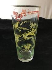 Vintage Peanut Butter Glass Turf Attraction Horse Racing B-19