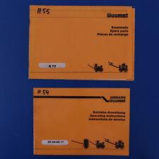 Hatz Motor Ammann Dr.66 Duomat filterdienst Set mit