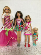 Barbie Sister Skipper Stacie Chelsea A Perfect Christmas Gala Dresses Doll Lot