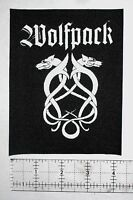 WOLFPACK - Crust Punk Patch Phobia Inepsy Extinction of Mankind Wormrot D-beat