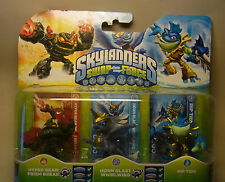 Skylanders swap Force 3er set Prism Break/Whirlwind/Rip Tide con embalaje original