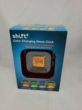 SHIFT 3 COLOR CHANGING ALARM CLOCK / TEMP & TIMER & DATE & ALARM