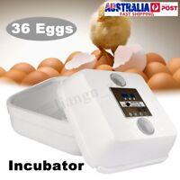 36 Egg Automatic Digital Incubator Chicken Poultry Hatcher Temperature H go