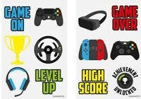 Gamer Computer Games Gaming Temporary Tattoos Party Loot Bag Fillers Kids