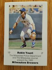 1985 Milwaukee Brewers Police 30 card team set Near Mint- Mint