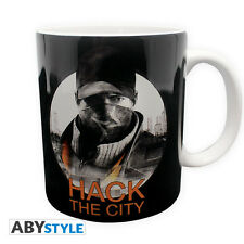Watch Dogs Tasse Hack The City 320 ml NEU & OVP