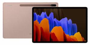 """[NEW] Samsung Galaxy Tab S7+ SM-T970 128GB, Wi-Fi, 12.4"""" - Mystic Bronze"""