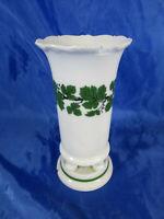 Uralt Meissen_Porzellan Weinlaub Vase Weinranke Sockel Standfuß um 1925/34
