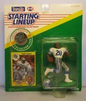 1991 BARRY SANDERS Starting Lineup (SLU) Football Figure - DETROIT LIONS