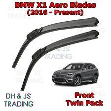 (16-19) BMW X1 Aero Wiper Blades Flat Blade Wipers F48