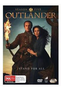 Outlander - Season 5 Five : NEW & SEALED DVD R4 - FREE POSTAGE