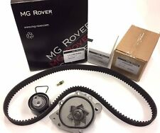 MG ZS / R45  CAMBELT / TIMING BELT KIT AUTO TENSIONER INC WATER PUMP GENUINE MG