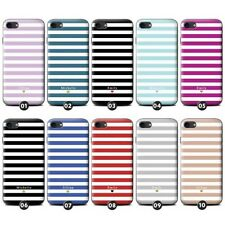 PERSONALIZZATO strisce / striato GEL/TPU custodia/ Cover per Apple iPhone
