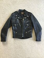 1950's Vintage Harley Davidson Women's Cycle Queen Horsehide Leather Jacket