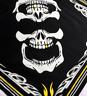 Skull Bandanna Scarf Face Shield Biker Tribal Gold Tooth