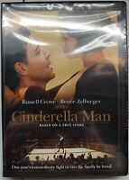Cinderella Man DVD NEW Ashley Judd Russell Crowe Boxing Romance Drama Movie