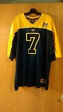 Michigan Wolverines #7 Sewn Colosseum Football Jersey XXL