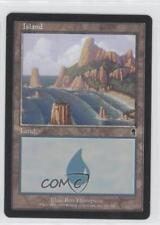 2001 Magic: The Gathering - Odyssey Booster Pack Base #336 Island Magic Card 0b4