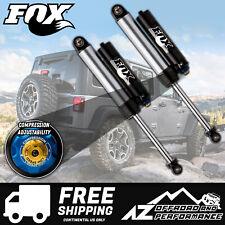 """Fox 2.5 Factory Series Rear Bypass Resi Shocks w/DSC For 07-18 Jeep JK 2.5""""- 4"""""""