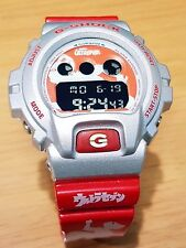Vintage G-Shock DW-6900 Ultra7 Metallic Silver-Red Custom Negative Rare limited