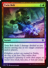 Twin Bolt FOIL Conspiracy Take the Crown NM Red Common MAGIC MTG CARD ABUGames