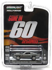 Greenlight 1967 Ford Mustang Eleanor Gone In 60 Seconds 1:64 Grey 44742