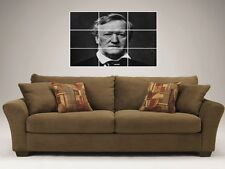 """RICHARD WAGNER MOSAIC 35""""X25"""" INCH WALL POSTER COMPOSER"""