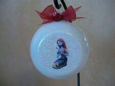 "Handmade Disney The Nightmare Before Christmas ""Sally"" 3"" Glass Ornament~NEW"