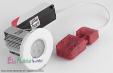 Kit spot encastré étanche 9W IP65 spécial salle de bains Blanc ABI AU-LF1024B/40