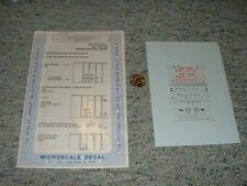 Microscale  decals N 60-507 50' 100 ton airslide hoppers UP WP MP  F87