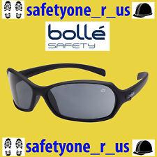 Bolle Safety Glasses - Hurricane - Black Frame - Smoke Lens